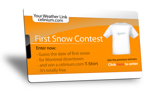 2016 First Snow Contest