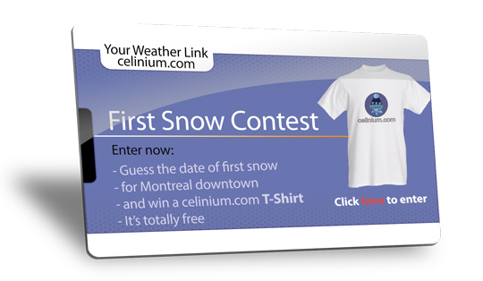 2020 First Snow Contest